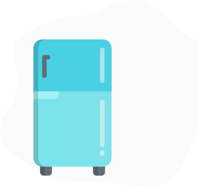 Grafik blauer Koffer