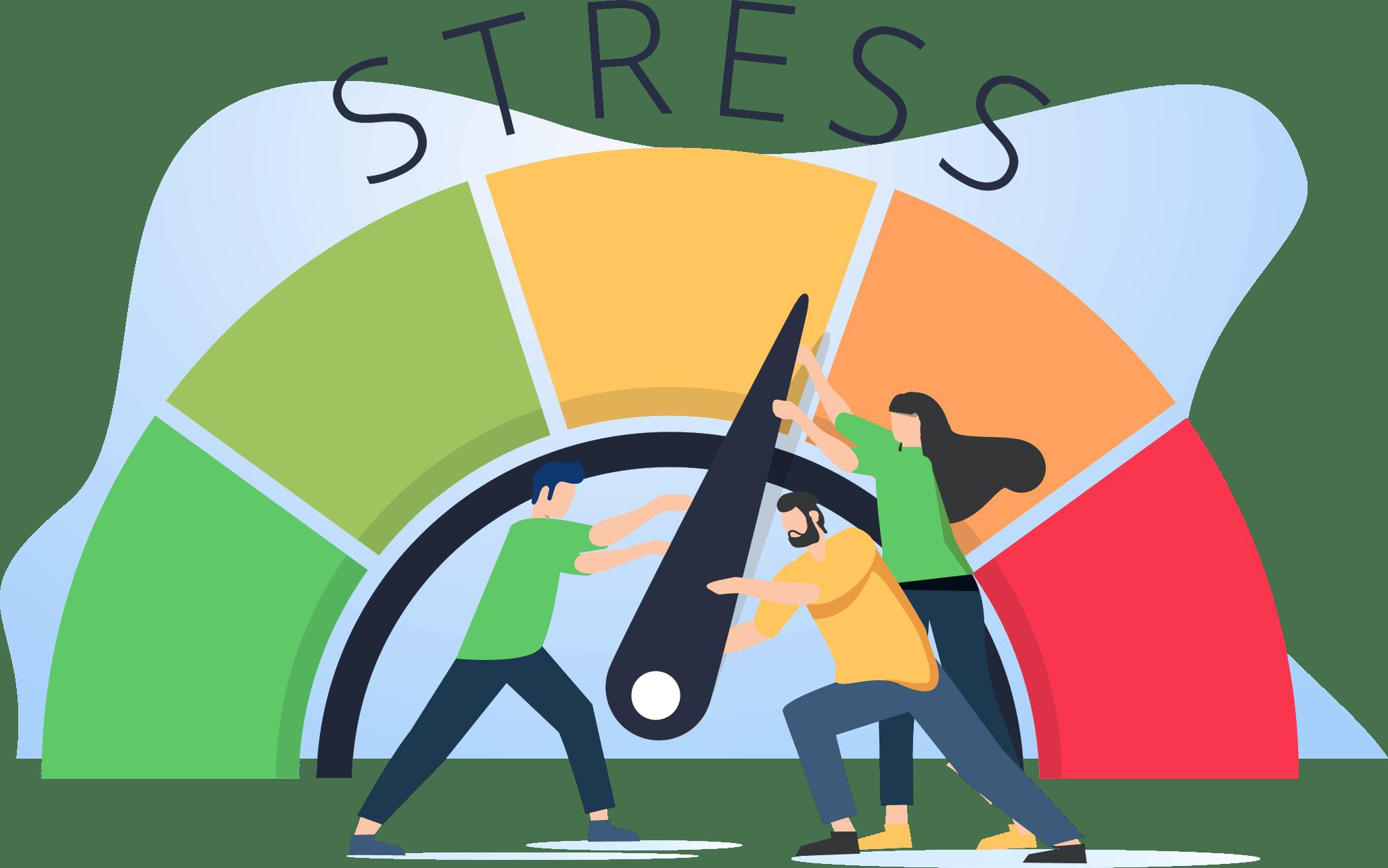 Grafik Stress